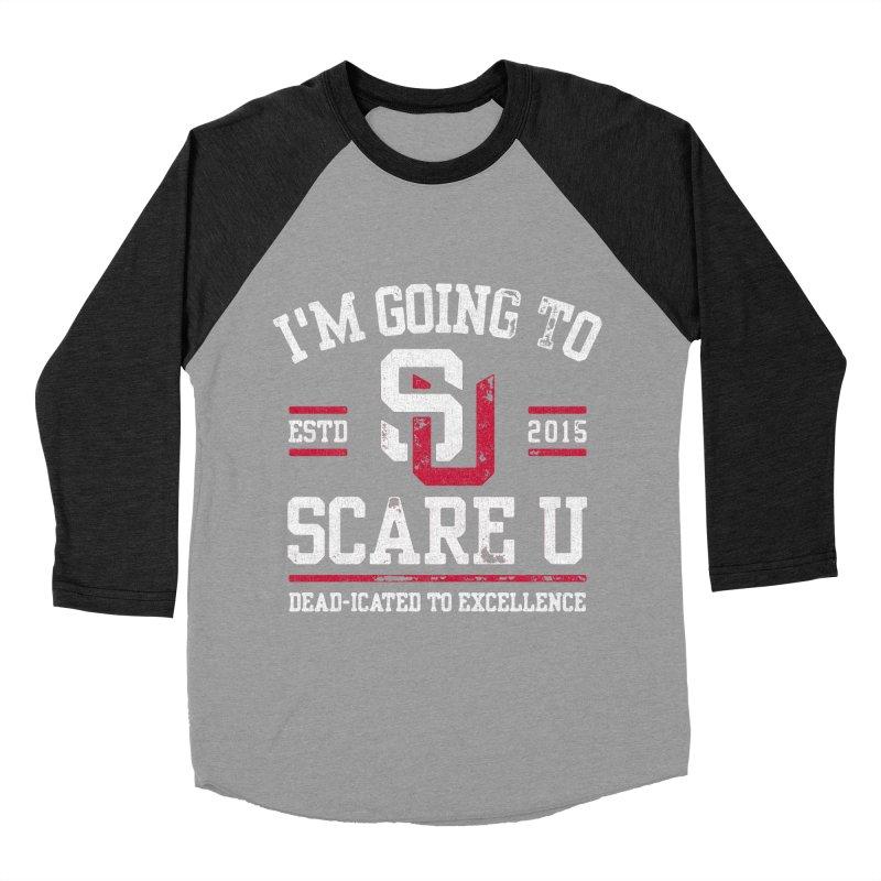 Going To Scare U Women's Baseball Triblend T-Shirt by Scare U