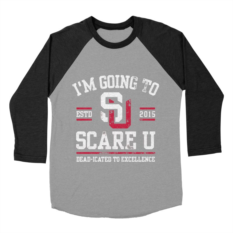 Going To Scare U Men's Baseball Triblend T-Shirt by Scare U