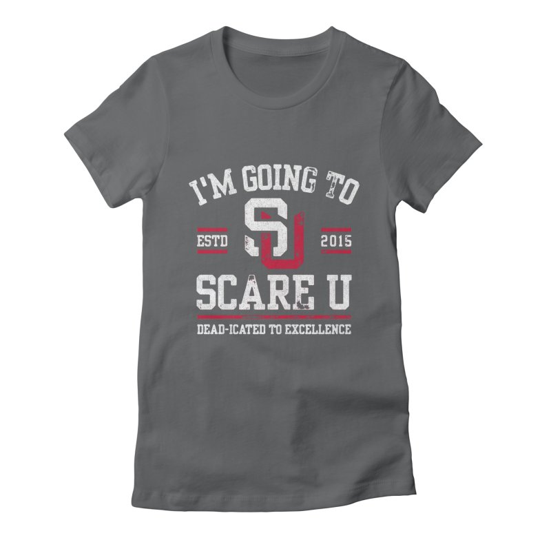 Going To Scare U Women's Fitted T-Shirt by Scare U