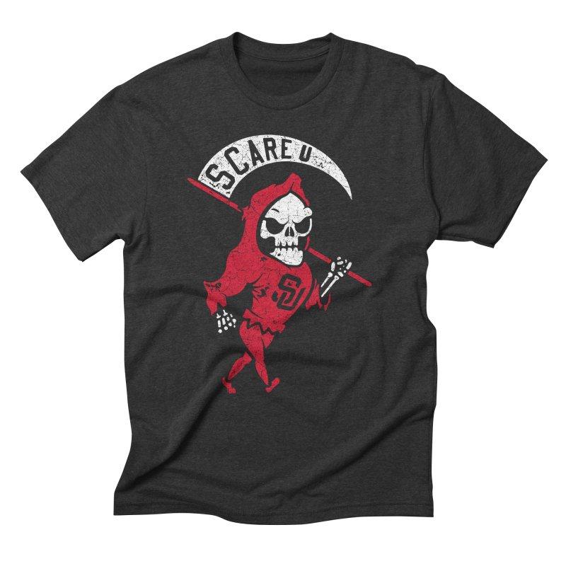 Scare U Reaper Men's Triblend T-Shirt by Scare U