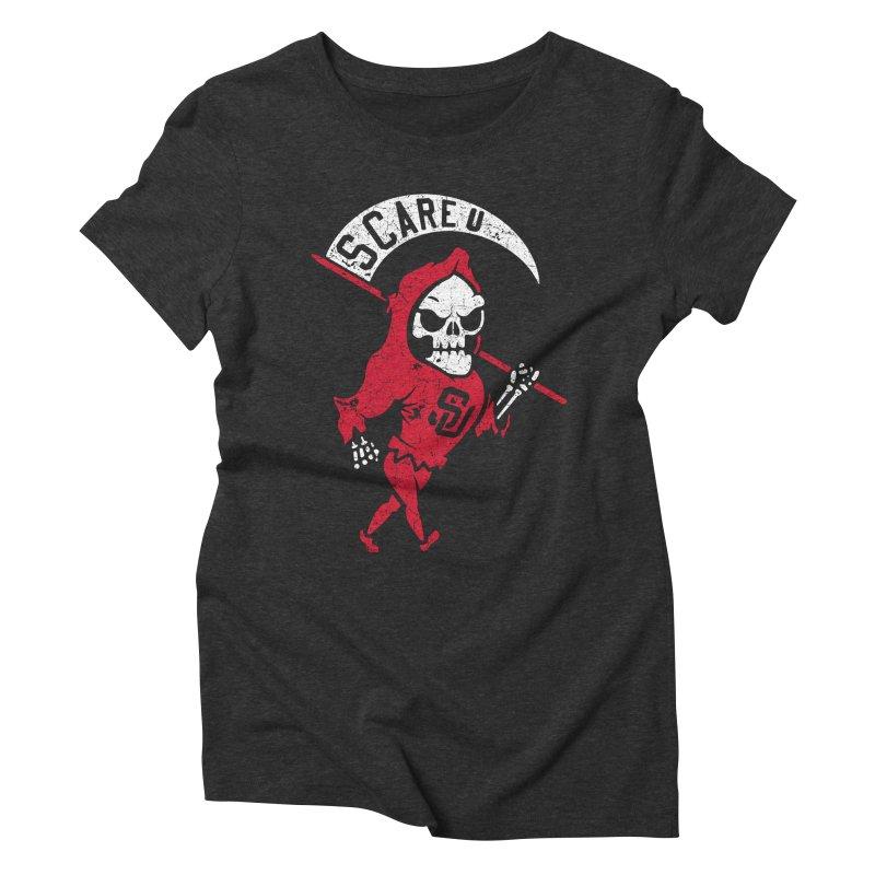 Scare U Reaper Women's Triblend T-Shirt by Scare U