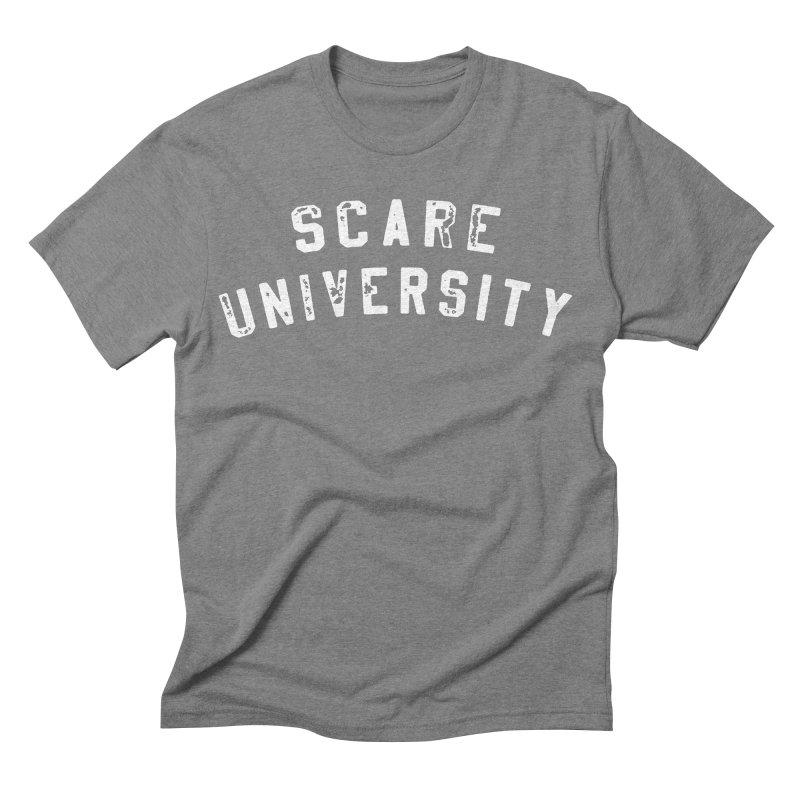 Scare U Rocker Men's Triblend T-shirt by Scare U