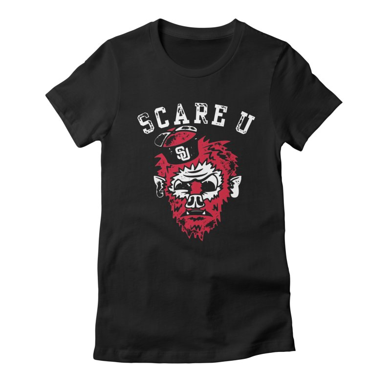 Scare U Wolfman Women's Fitted T-Shirt by Scare U