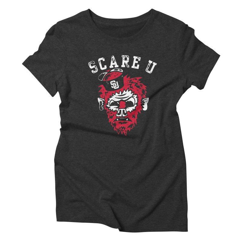 Scare U Wolfman Women's Triblend T-shirt by Scare U