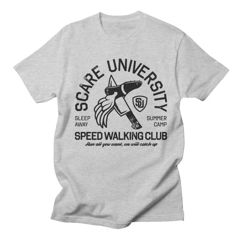 Speed Walking Camp Men's T-Shirt by Scare U
