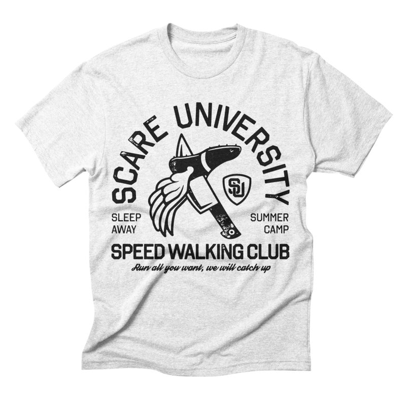 Speed Walking Camp Men's Triblend T-shirt by Scare U