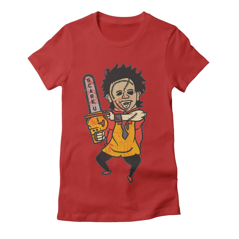 Scare U Shop Class Women's Fitted T-Shirt by Scare U