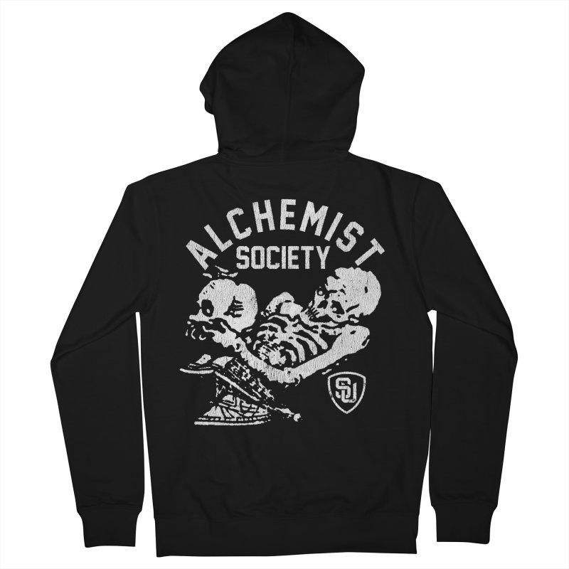 Alchemist Society Men's Zip-Up Hoody by Scare U