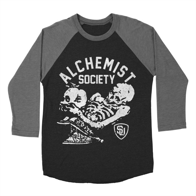 Alchemist Society Men's Baseball Triblend T-Shirt by Scare U