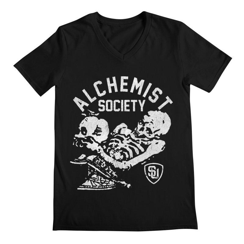 Alchemist Society Men's V-Neck by Scare U