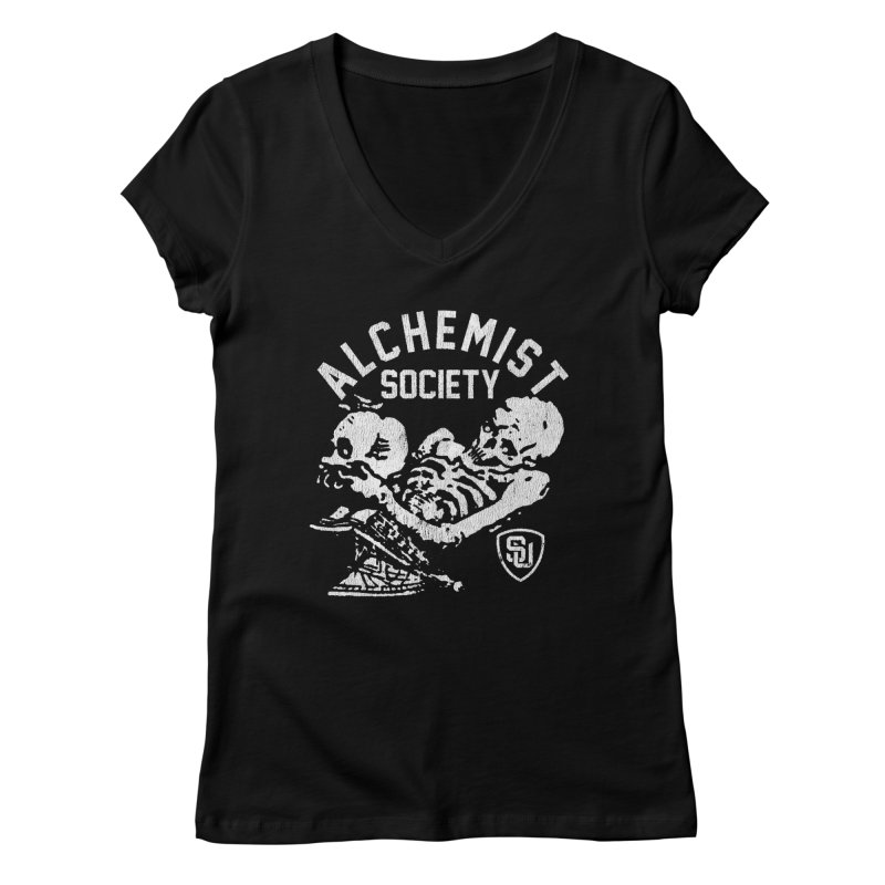 Alchemist Society Women's V-Neck by Scare U