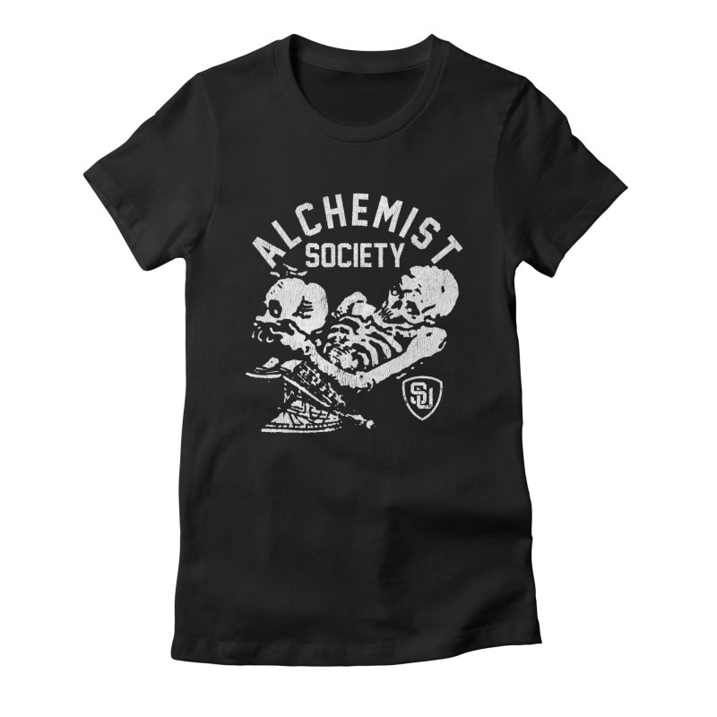 Alchemist Society Women's Fitted T-Shirt by Scare U