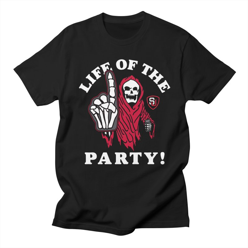 PARTY Reaper Men's T-shirt by Scare U