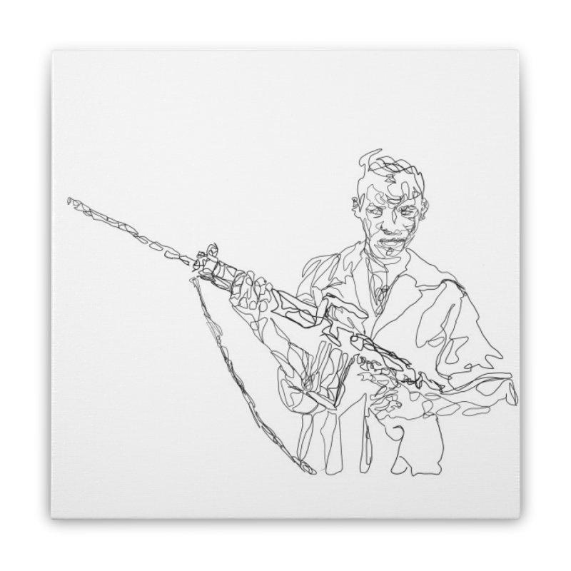 l'enfant de la republique Home Stretched Canvas by cianga