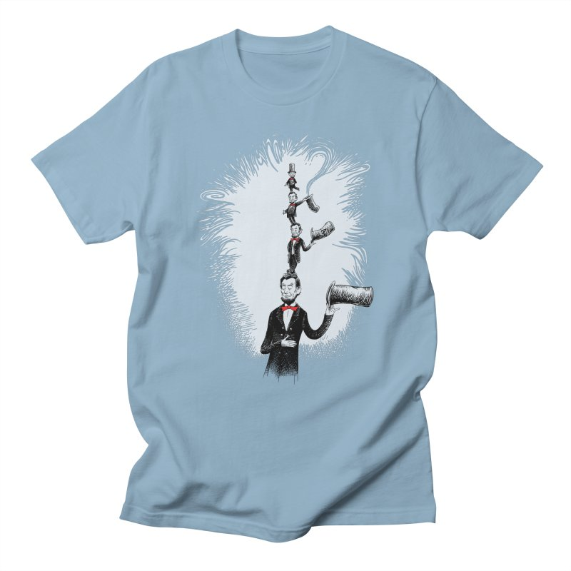 Abe in a Hat Men's T-shirt by Scatterbrain Tees