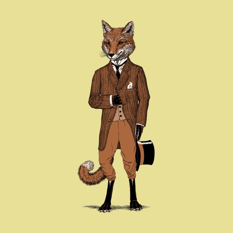 Dapper Fox by Scatterbrain Tees