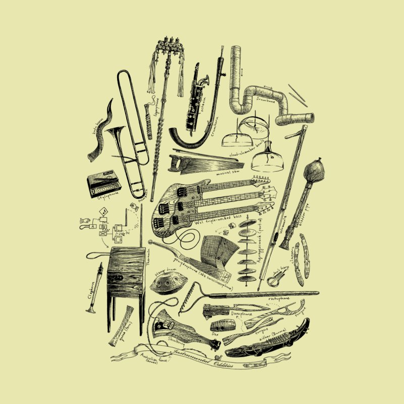 Instrumental Oddities by Scatterbrain Tees