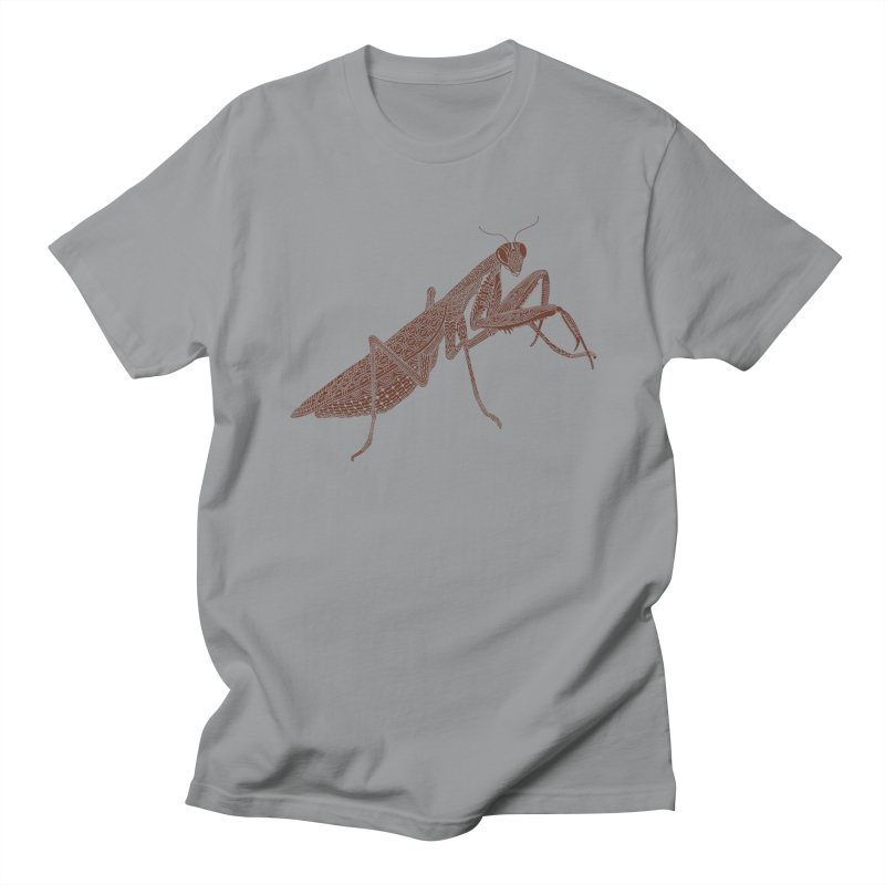 Meticulous Mantis Men's T-shirt by Scatterbrain Tees