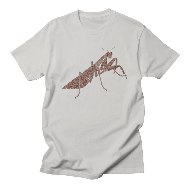 Meticulous Mantis Men's T-Shirt by Scatterbrain Tees