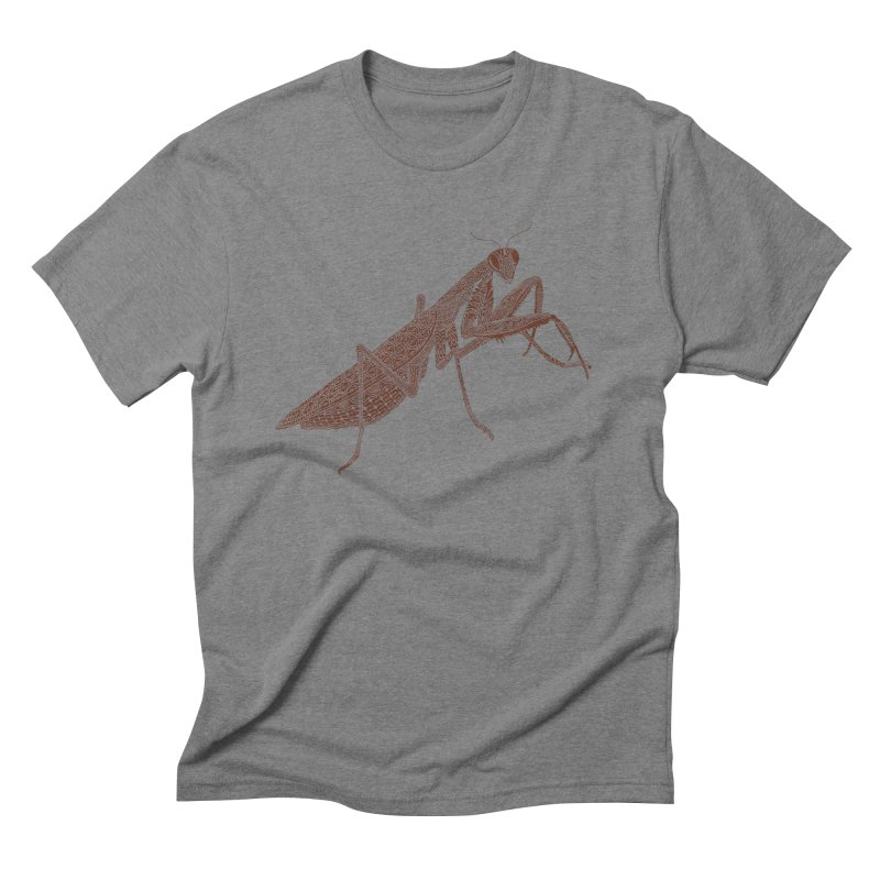 Meticulous Mantis Men's Triblend T-Shirt by Scatterbrain Tees