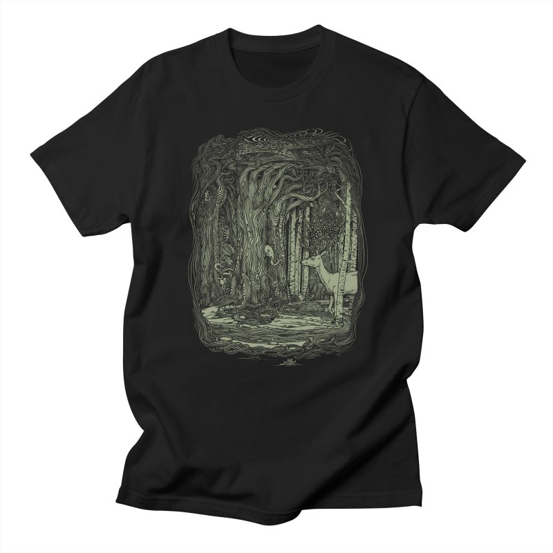 Tangled Forest Men's T-shirt by Scatterbrain Tees