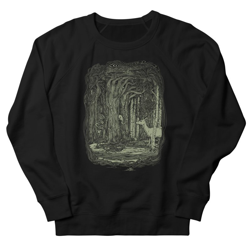 Tangled Forest Women's Sweatshirt by Scatterbrain Tees