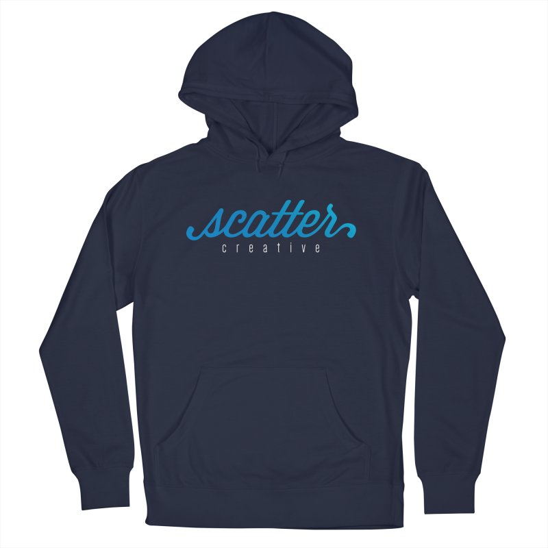 Scatter Creative Logo Men's French Terry Pullover Hoody by scattercreative's Artist Shop