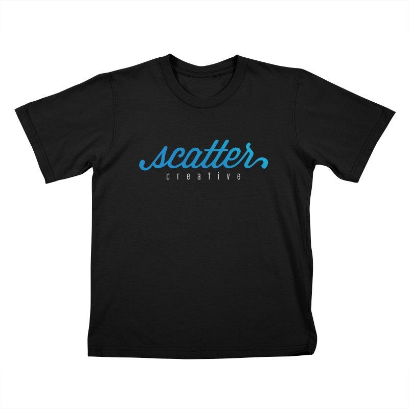 Scatter Creative Logo Kids T-Shirt by scattercreative's Artist Shop
