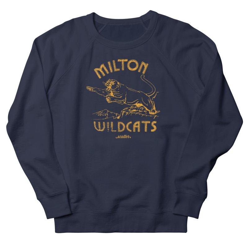Milton Wildcats Men's Sweatshirt by scattercreative's Artist Shop