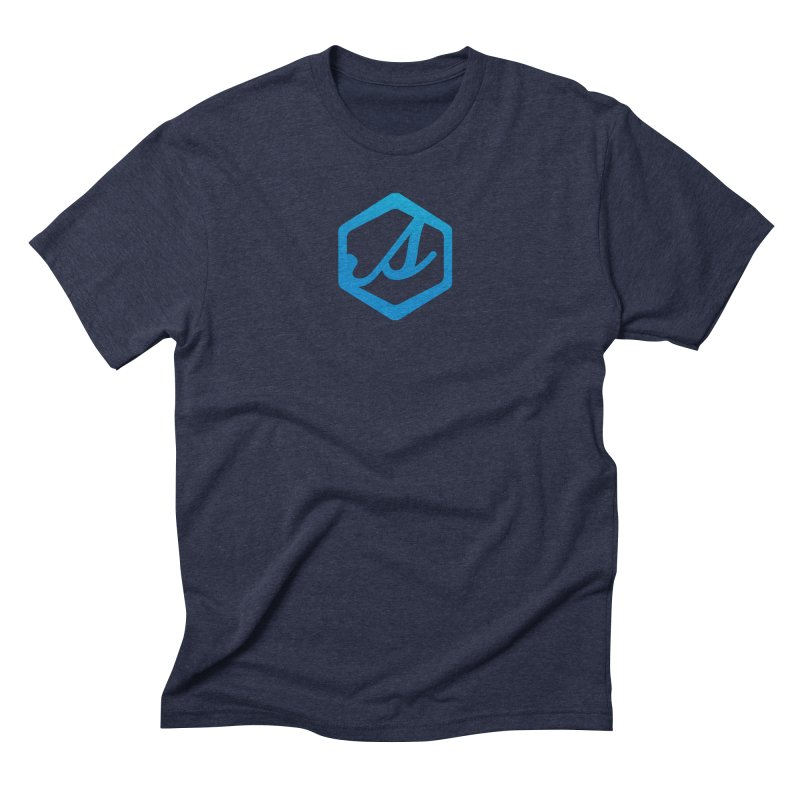 Scatter S Icon Men's Triblend T-Shirt by scattercreative's Artist Shop