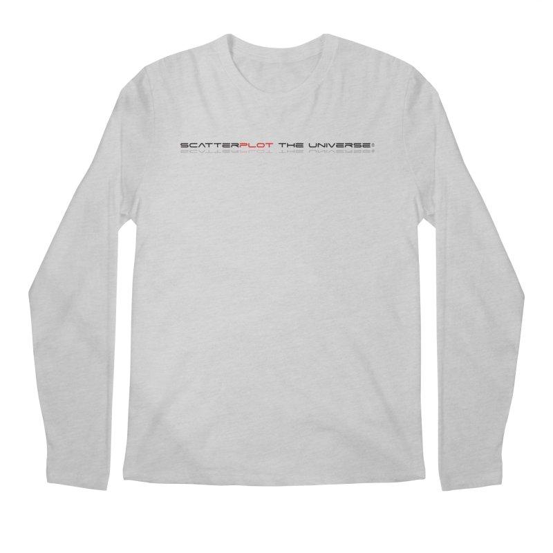 SPTU Colorful Theme Men's Regular Longsleeve T-Shirt by Scatterplot The Universe Shop