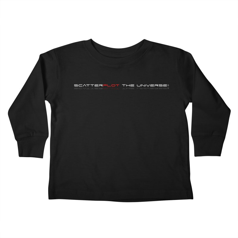 SPTU Dark Theme Kids Toddler Longsleeve T-Shirt by Scatterplot The Universe Shop