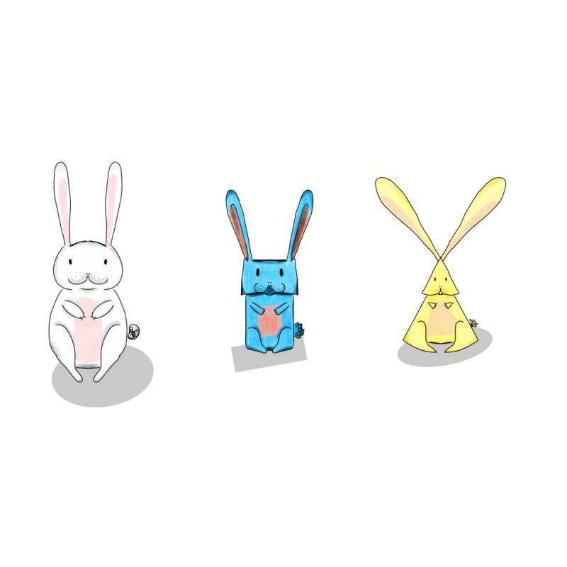 3 shaped Bunnies by Schadefox's Artist Shop
