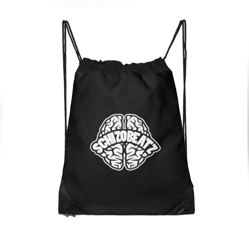 Brain Logo Accessories Bag by Schizo