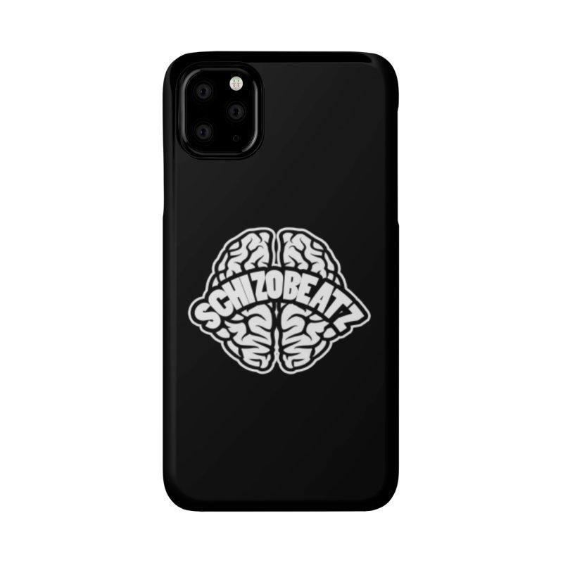 Brain Logo Accessories Phone Case by Schizo