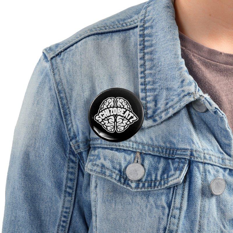 Brain Logo Accessories Button by Schizo