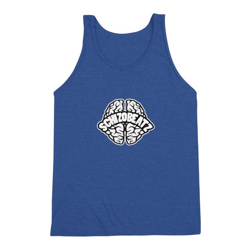 Brain Logo Men's Tank by Schizo