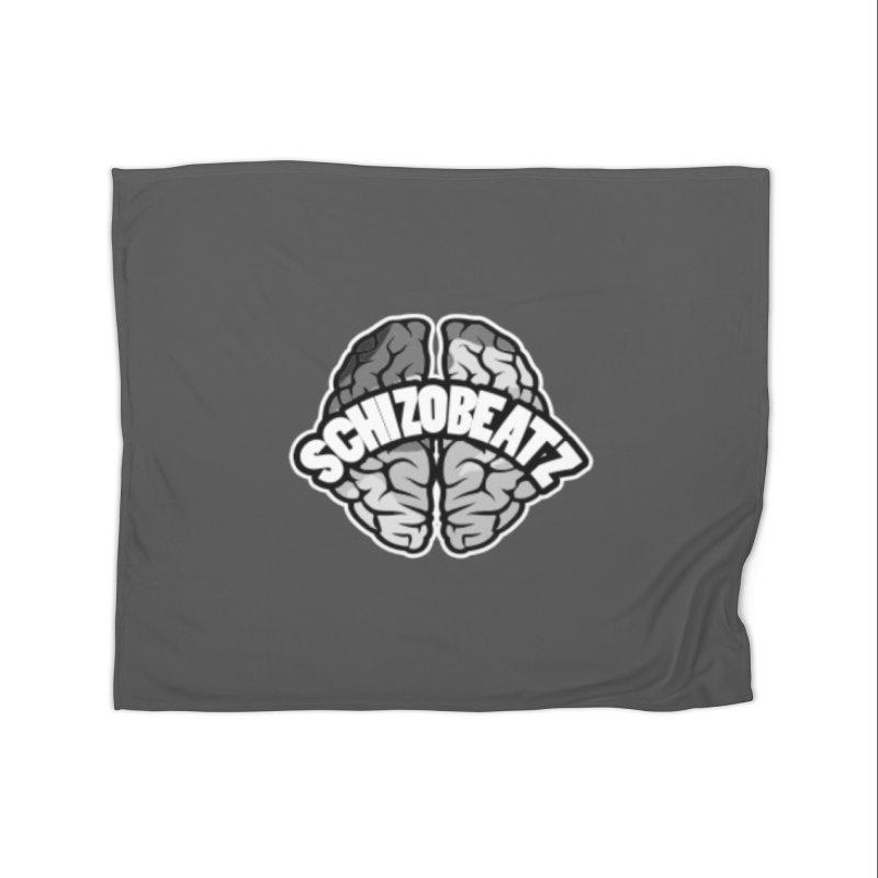 Brain - Camo Home Blanket by Schizo