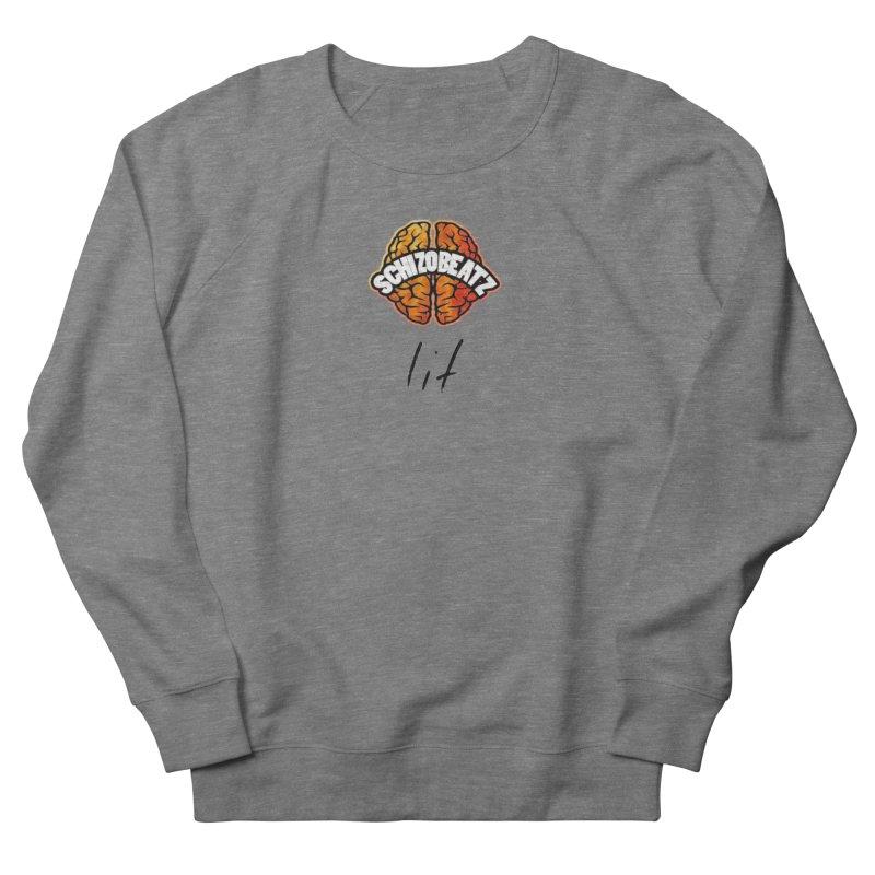 Brain - Fire lit Women's Sweatshirt by Schizo
