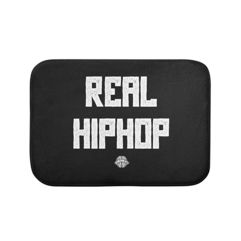 Real Hiphop Home Bath Mat by Schizo