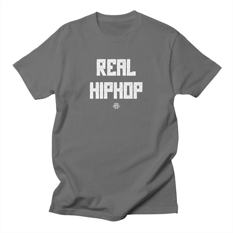 Real Hiphop Men's T-Shirt by Schizo