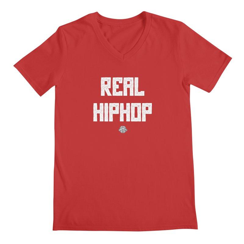 Real Hiphop Men's V-Neck by Schizo