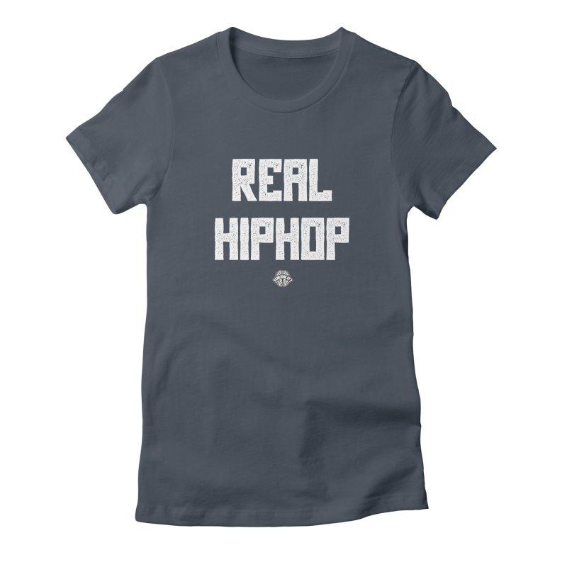 Real Hiphop Women's T-Shirt by Schizo