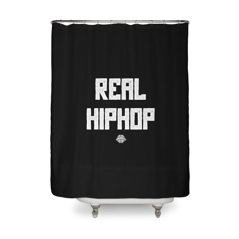 Real Hiphop Home Shower Curtain by Schizo
