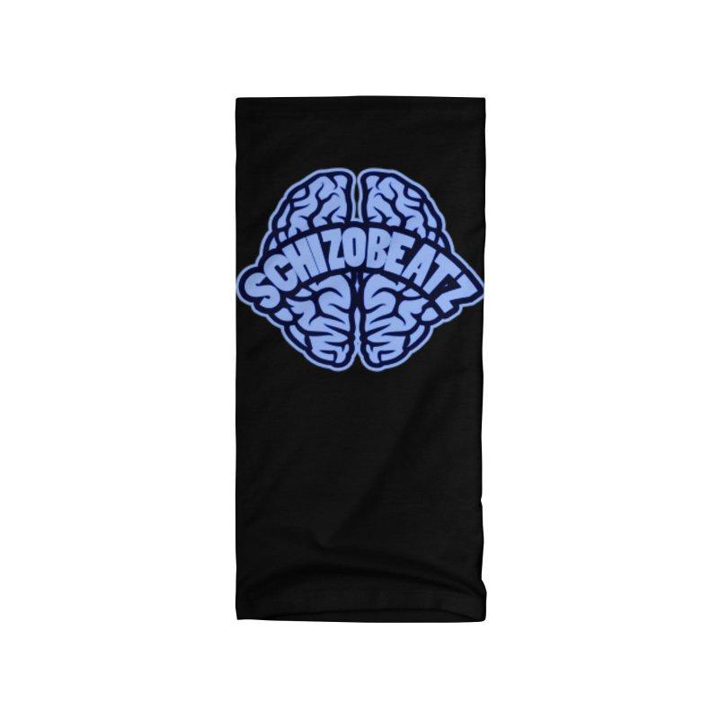 Blue Brain Accessories Neck Gaiter by Schizo