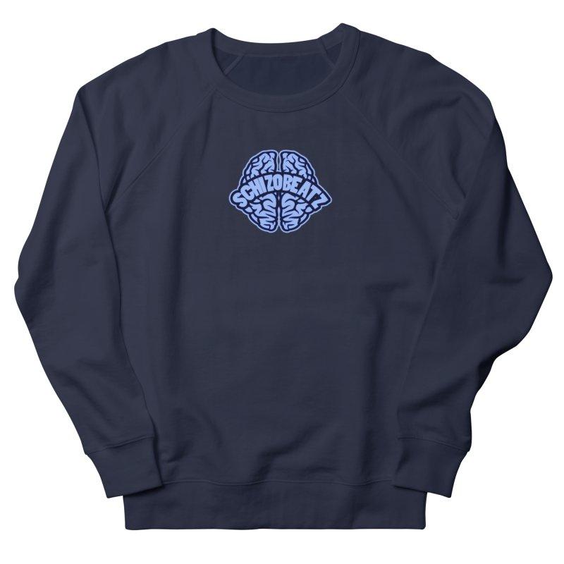 Blue Brain Women's Sweatshirt by Schizo
