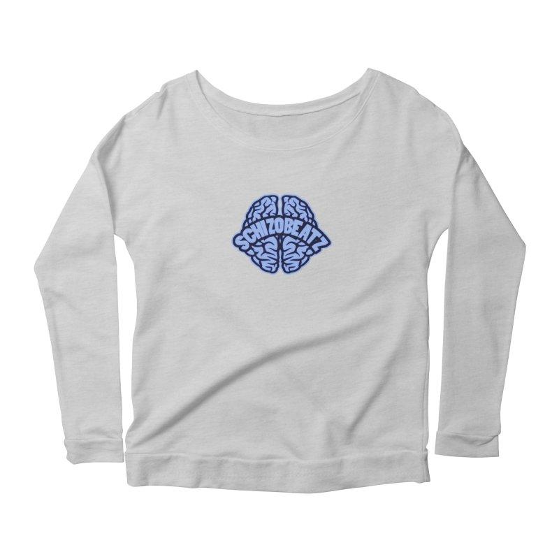 Blue Brain Women's Longsleeve T-Shirt by Schizo