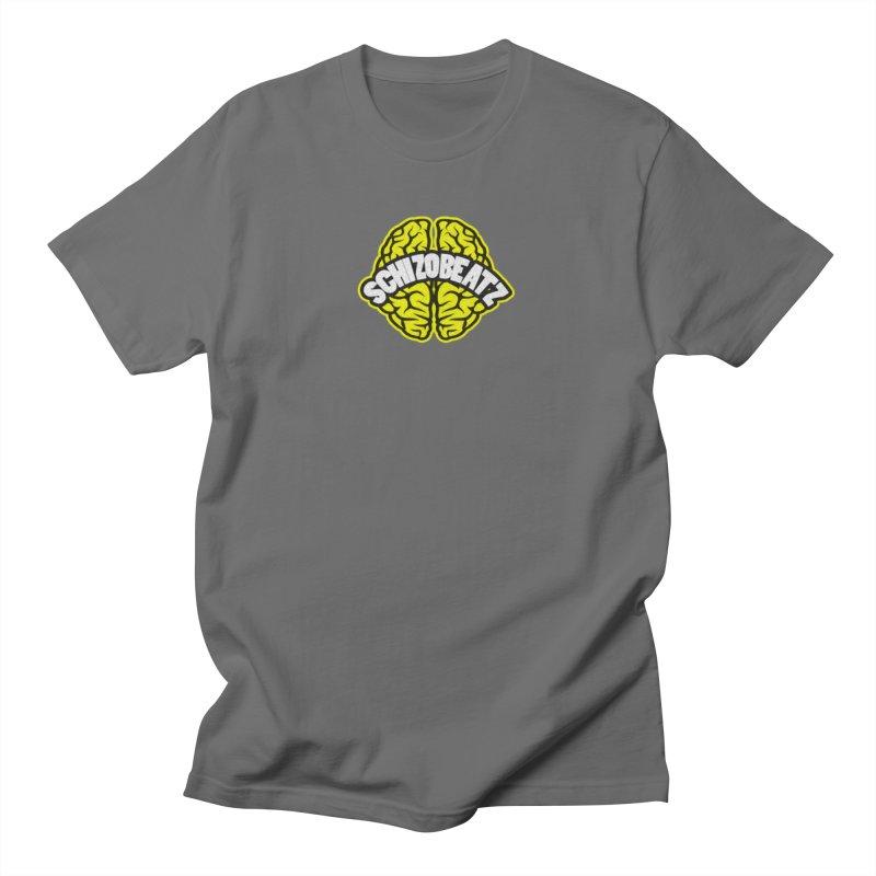 Sponge Brain Men's T-Shirt by Schizo