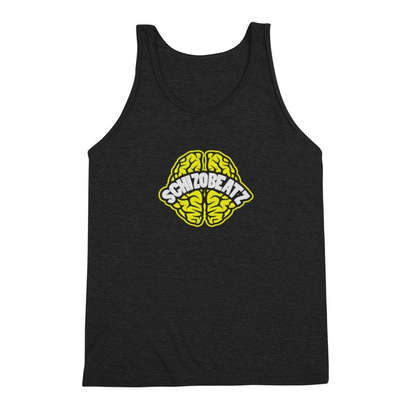 Sponge Brain Men's Tank by Schizo
