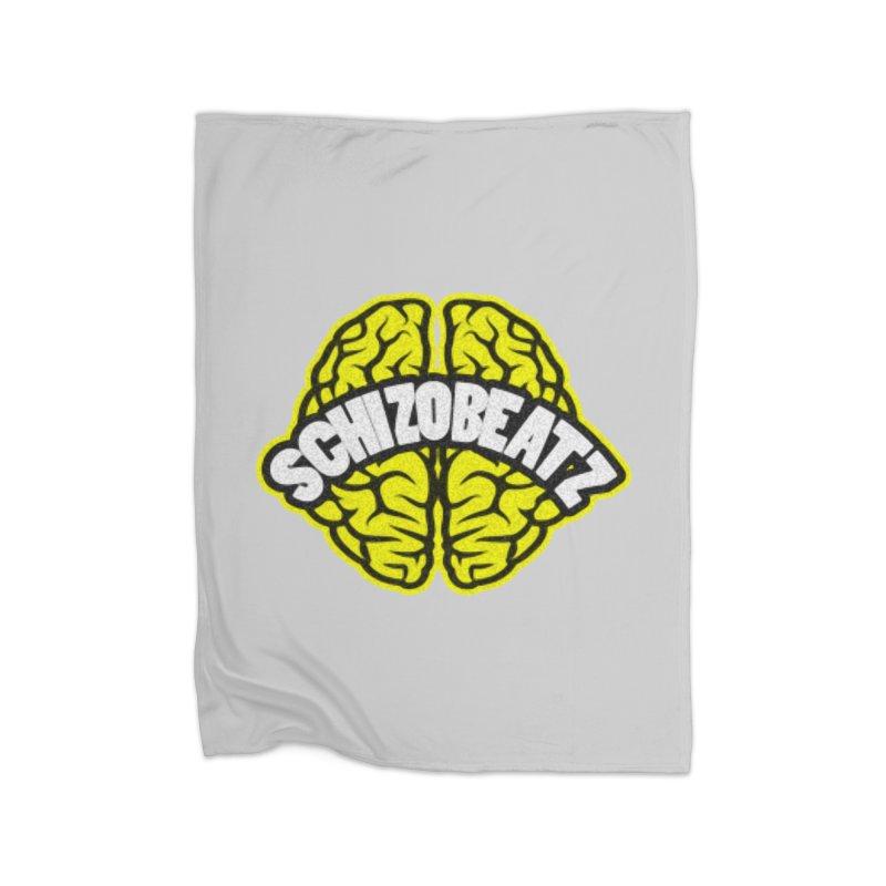 Sponge Brain Home Blanket by Schizo